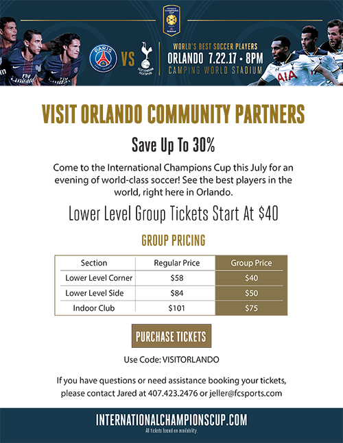 ICC Visit Orlando Community Partners Announcement